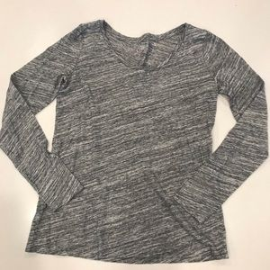 Loft women's grey small top